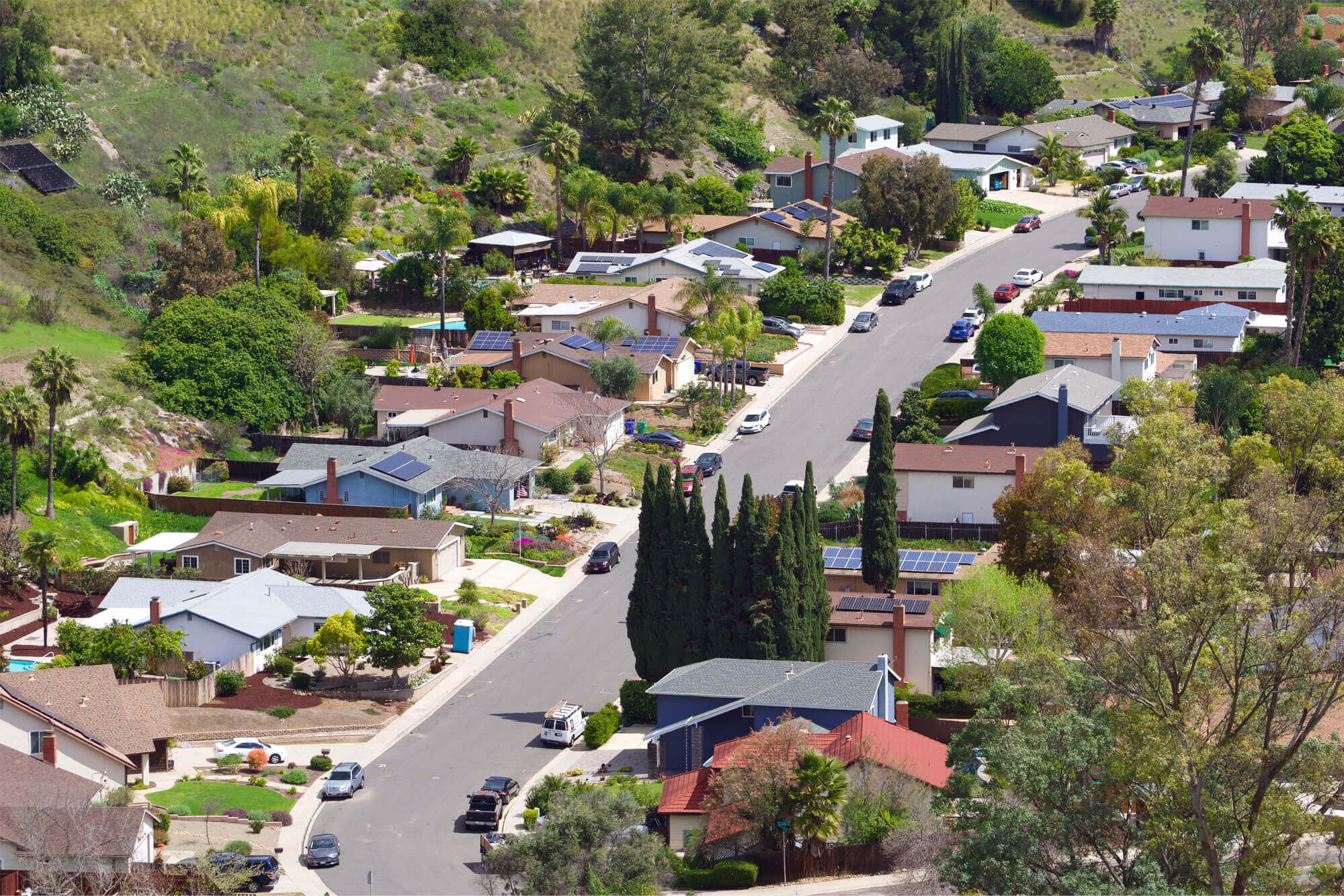 Street in suburban Melbourne troubled by neighbourhood disputes